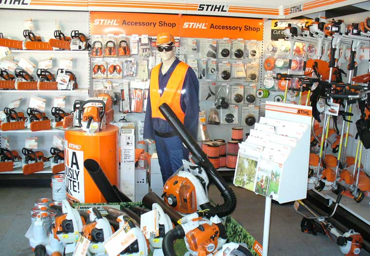 We have a huge range of chainsaws